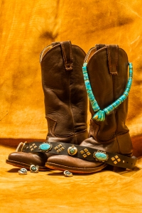Zuni and Navajo Turquoise and Silver Big Bad Collars (3)